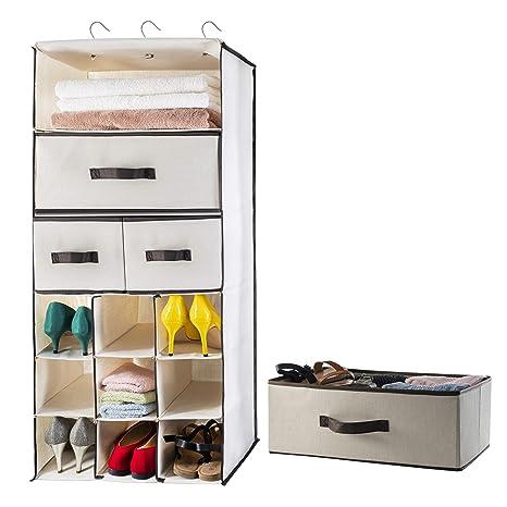 Amazon.com: Lovotex - Organizador de armario colgante para ...
