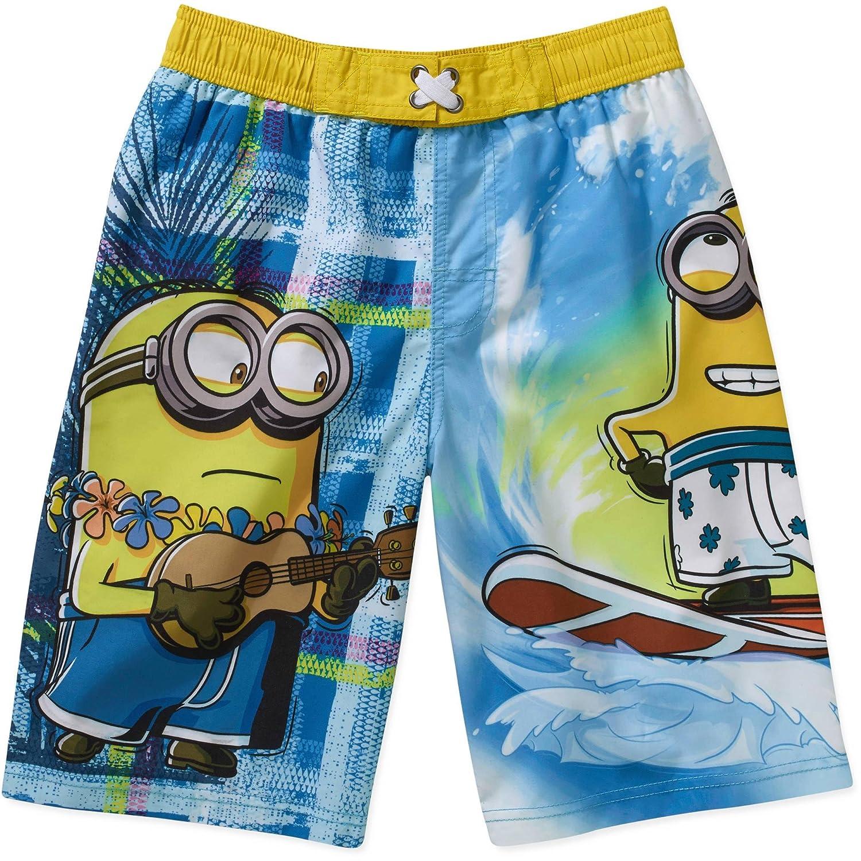 e9e011d700 Amazon.com: Despicable Me Minions Swim Trunks Swim Shorts (8): Clothing