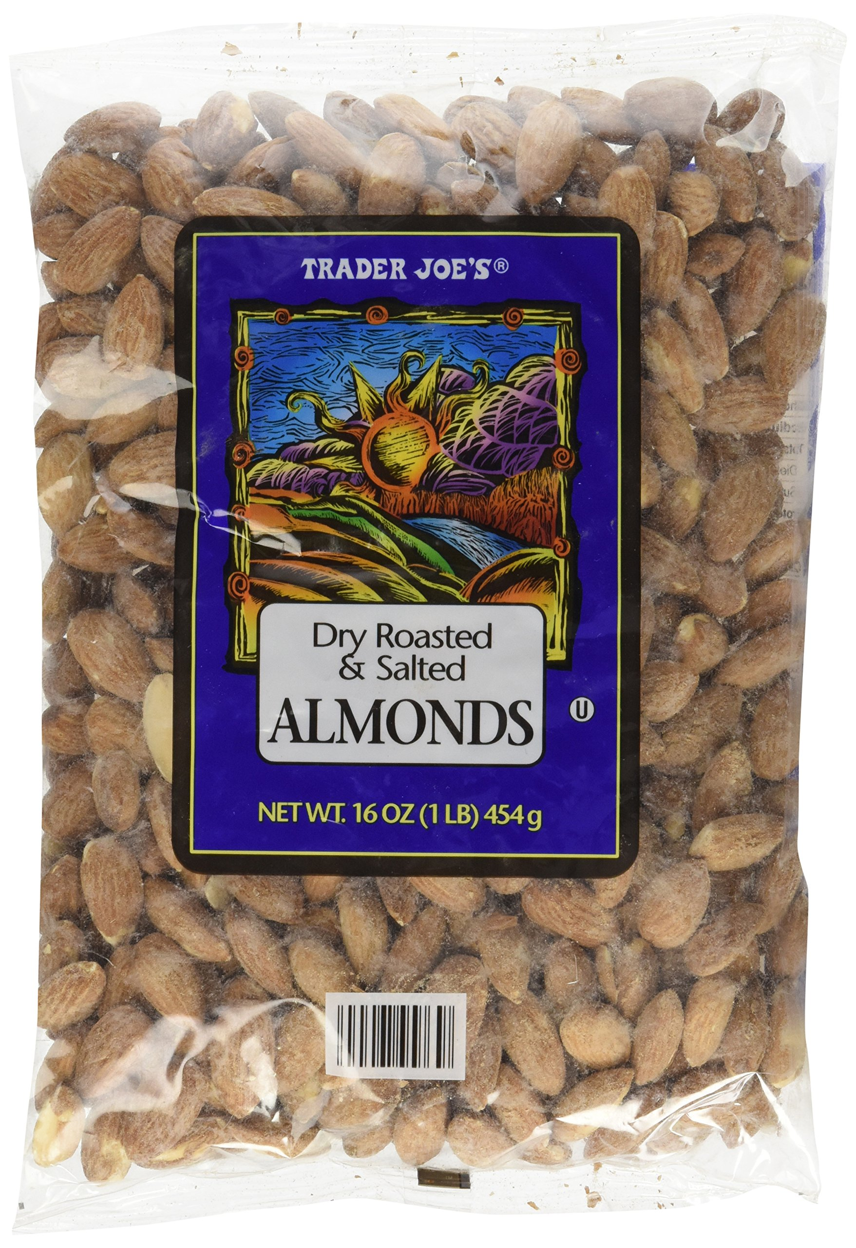 Trader Joe's Dry Roasted & Salted Almonds