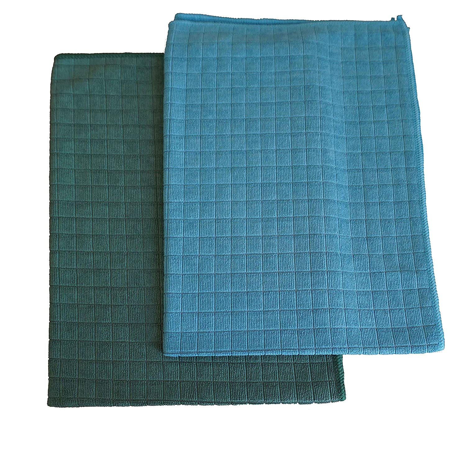 - Soft Grey, Blue, Green, Beige 45 x 65 cm Super Absorbent and Lint Free Kitchen Towels Gryeer Assorted Color Microfibre Tea Towels Pack of 4