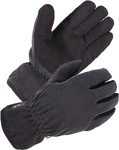 Free SKYDEER Winter Gloves with Deerskin Suede Leather...