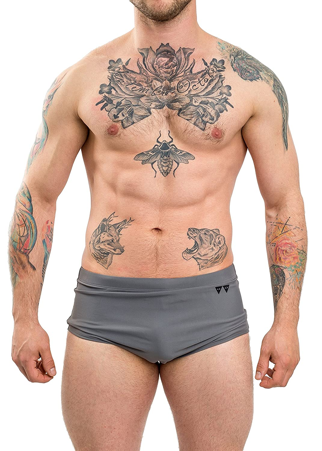 W WEBER BY KATYA WEBER Water Vintage Brief
