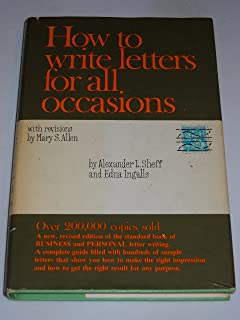 How To Write Letters For All Occasions Edna Ingalls Alexander L
