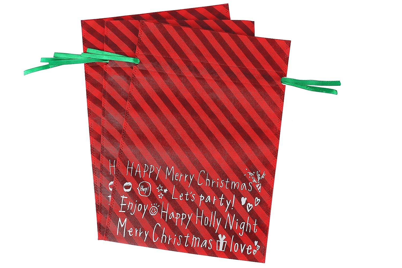 Bolsas de regalo grandes para Navidad 3/packs Diarylook