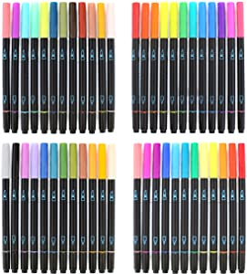 Artist's Loft Watercolor Markers Dual Tip, 48 Colors
