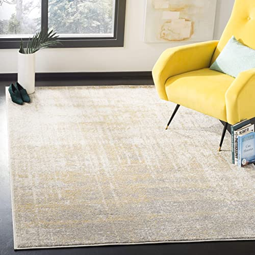 Safavieh Adirondack Collection ADR207A Modern Abstract Non-Shedding Stain Resistant Living Room Bedroom Area Rug