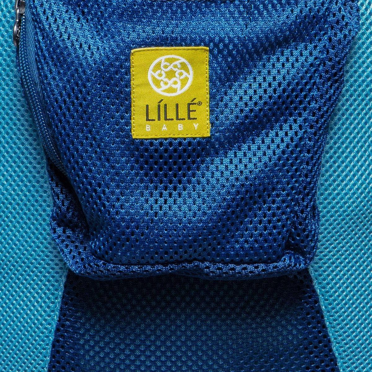 6 en 1 Azul Talla /única L/ÍLL/Ébaby Airflow azul con anclas Flujo de aire completo Portabeb/és transpirable para beb/é y ni/ño
