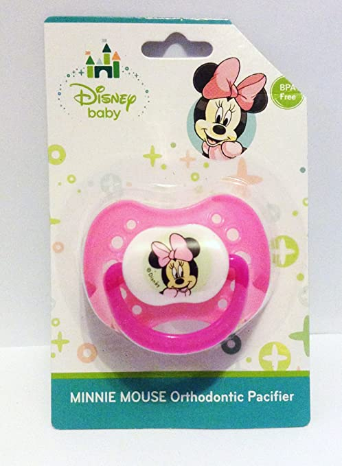 Disney Baby Mickey Mouse orthodontic Pacifier Chupete hellblau ...