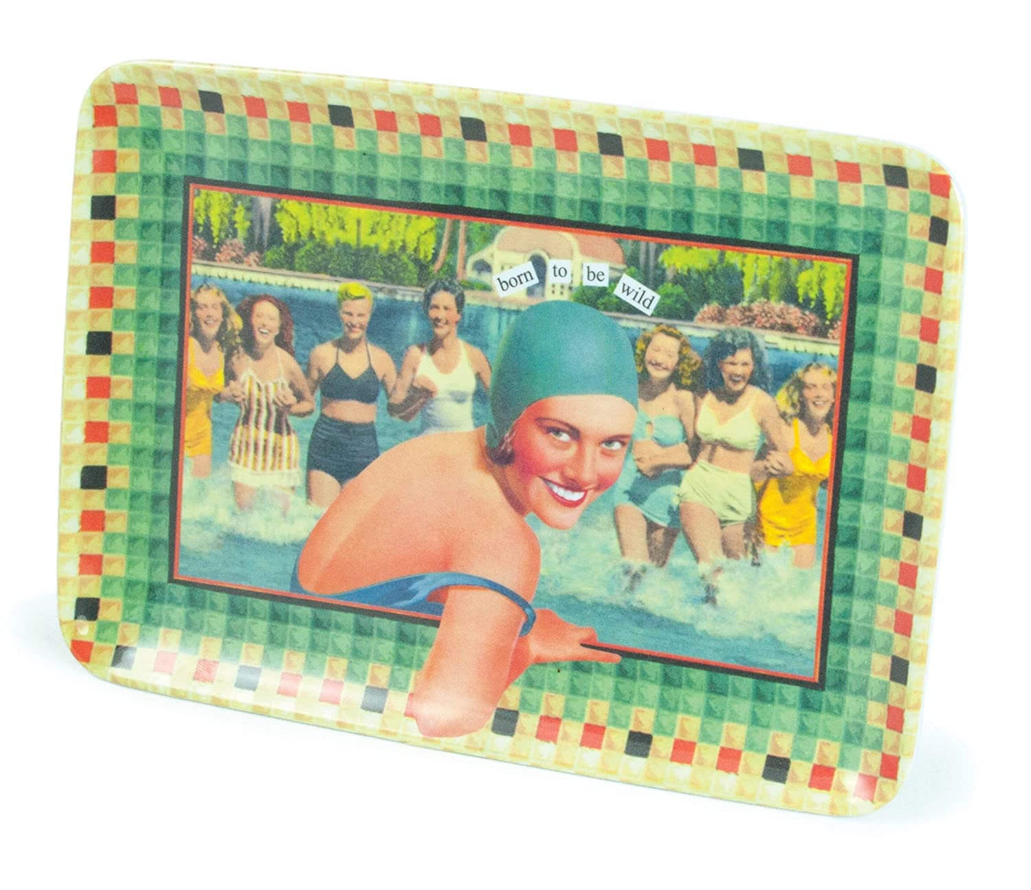 Born to Be Wild Anne Taintor Melamine Tray