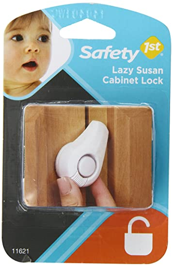 Amazon.com : Safety 1st Lazy Susan Cabinet Lock : Cabinet Safety ...