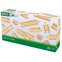 Brio 4433772 - Set Binari, 50 Pezzi