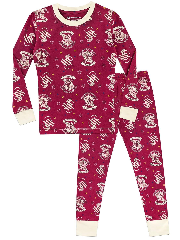 Harry Potter Girls Hogwarts Pyjamas Snuggle Fit