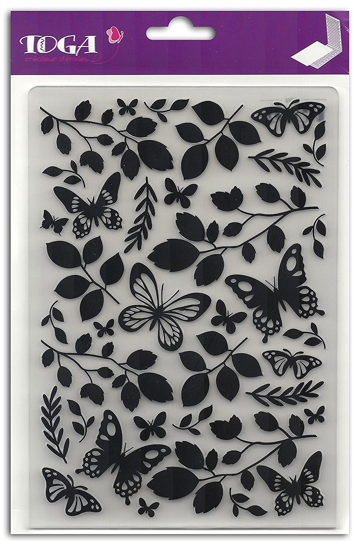 Toga dce020/Carpeta de Repujado Cut-it-All pl/ástico Transparente 14/x 20/x 0.5/cm