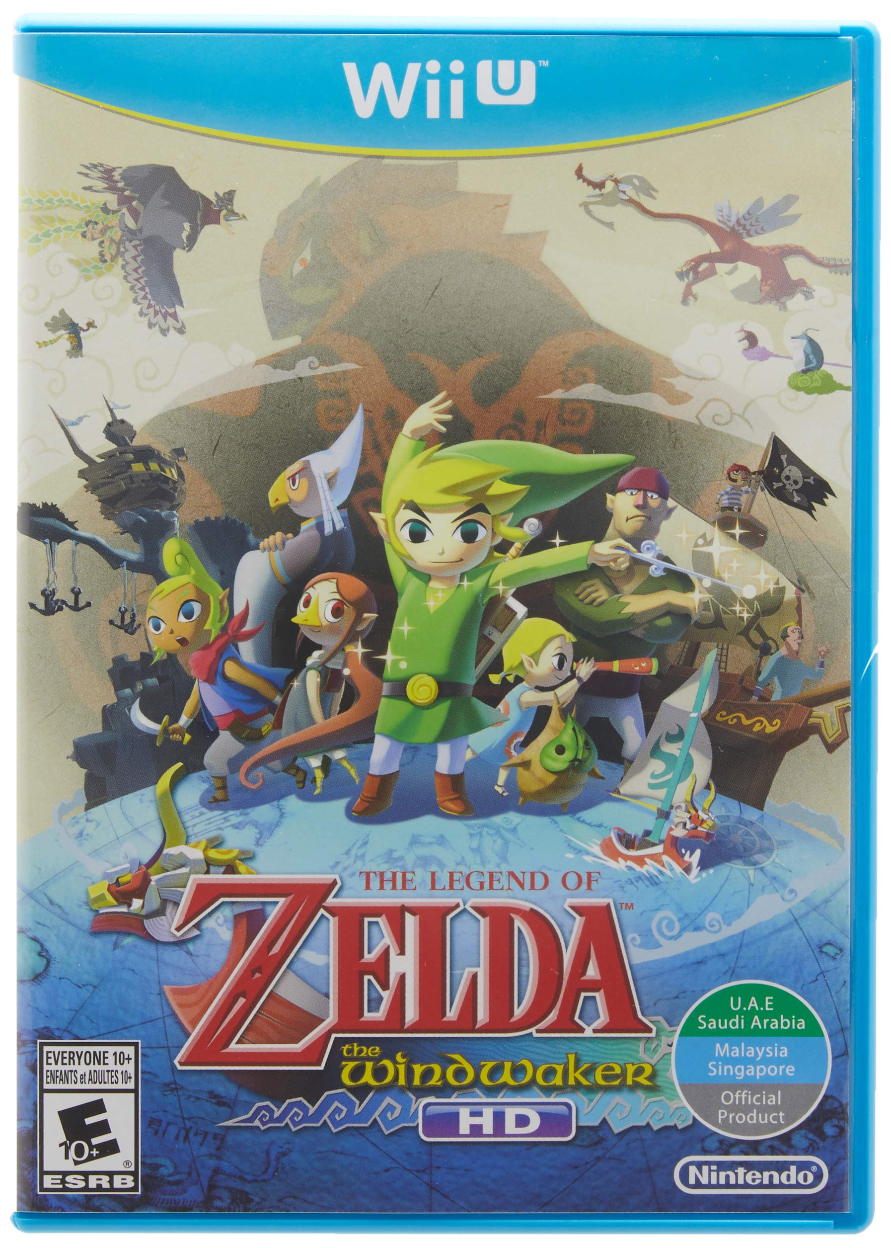 The legend of zelda: the wind waker hd | wii u | games | nintendo.