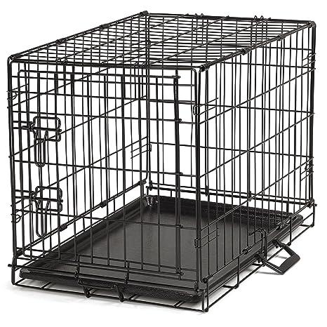 Proselect fácil Perro Cajas para Perros y Mascotas – Negro