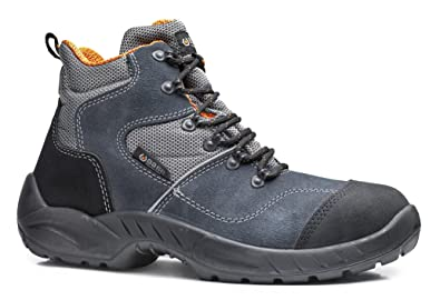 Base bo156 dammtor S1P SRC Smart para hombre antideslizante con cordones botas de seguridad: Amazon.es: Deportes y aire libre