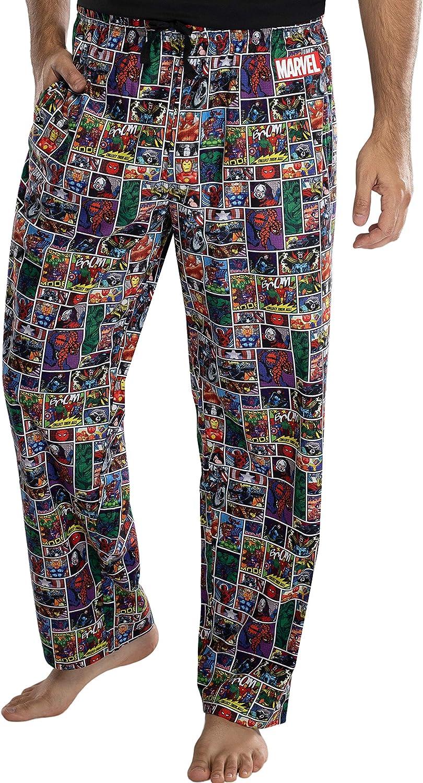 Various Sizes Marvel Comics Superheroes Spiderman Thor Pyjamas