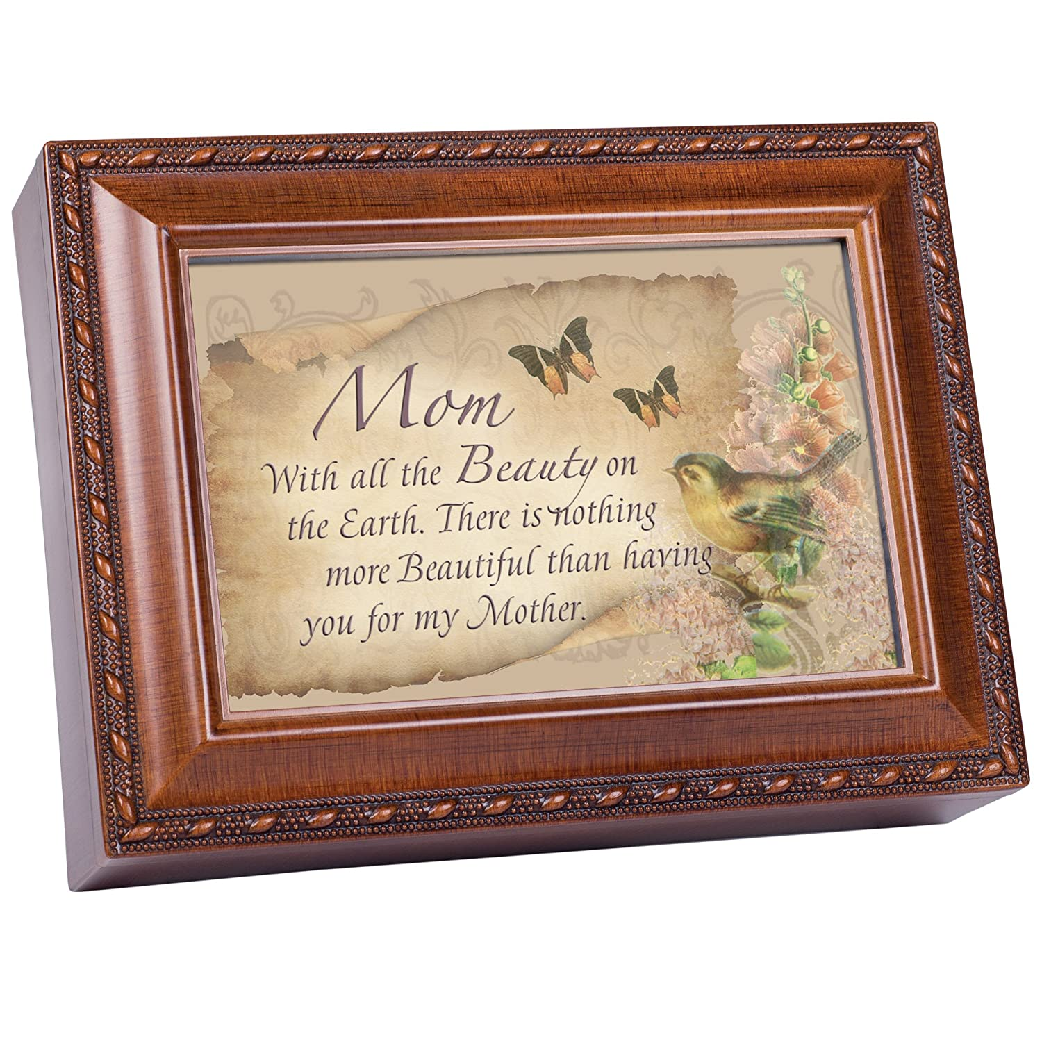 感謝の声続々! Cottage Garden Music Box Music Box - Mom The Beauty Plays With You Light Up My Life With Woodgrain Finish B0065OEEE8, D-FORME:9737211e --- arcego.dominiotemporario.com