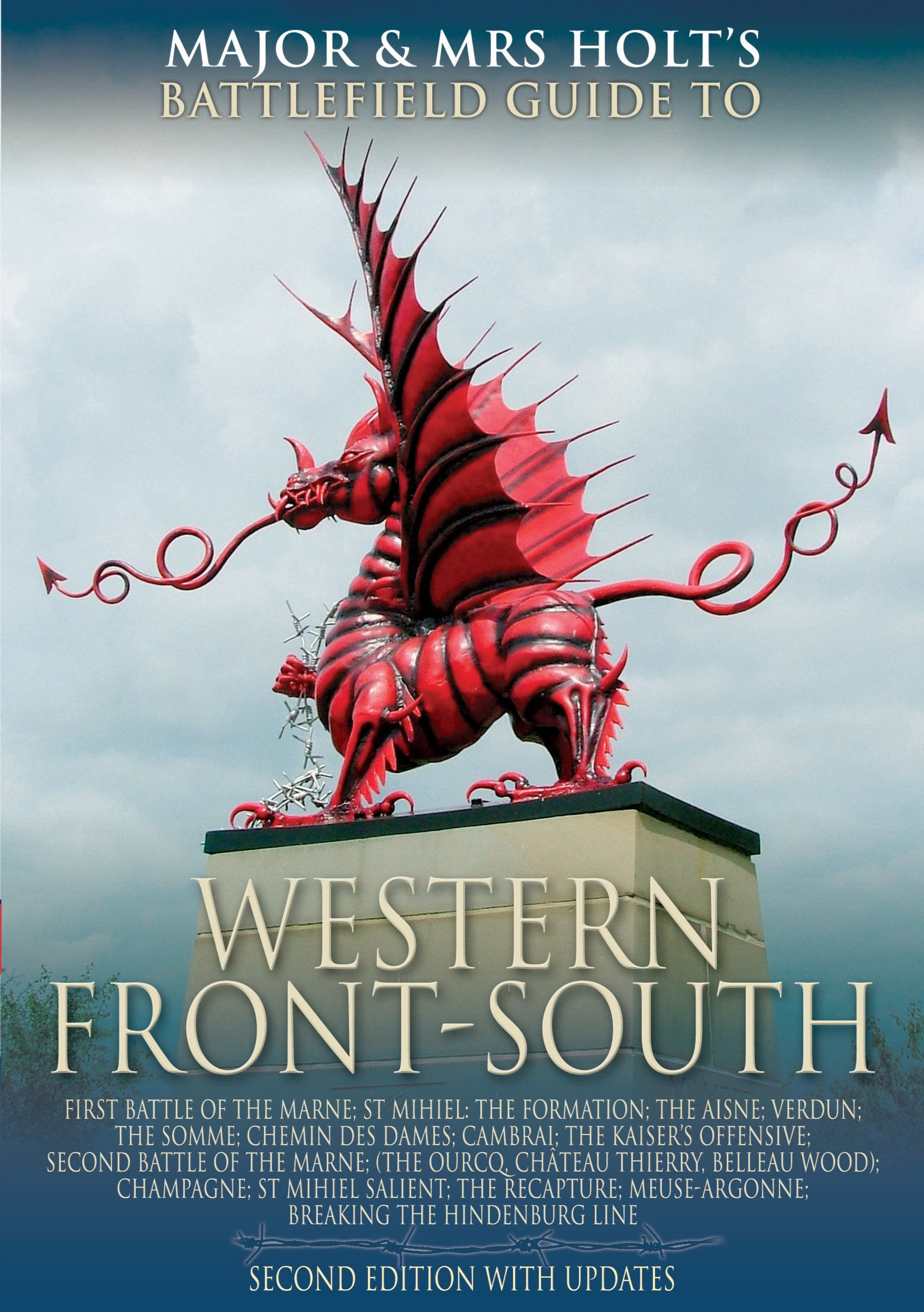 The Western Front - South: Battlefield Guide (Major and Mrs Holt's Battlefield Guides)