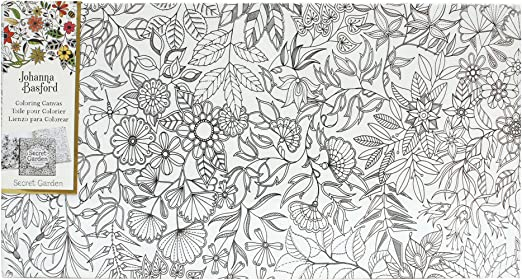 - Amazon.com: Art Alternatives Johanna Basford Secret Garden Coloring Canvas  Floral Landscape: Arts, Crafts & Sewing