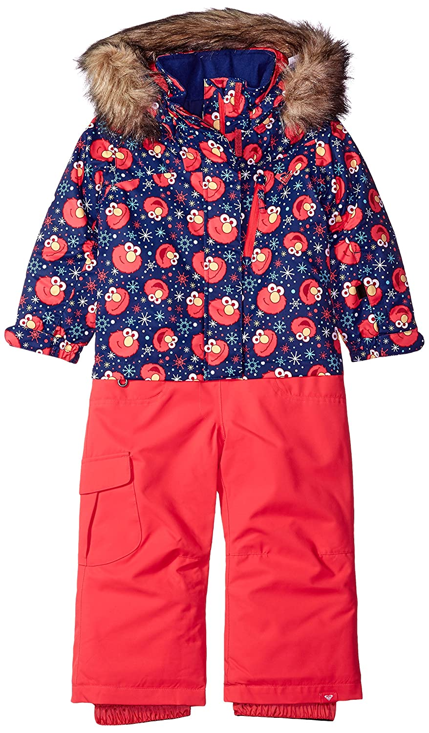 Roxy Girls Paradise Jumpsuit Elmo 4/5 Roxy Children' s Apparel ERLTS03001
