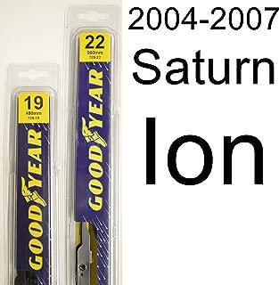 "product image for Saturn Ion (2004-2007) Wiper Blade Kit - Set Includes 22"" (Driver Side), 19"" (Passenger Side) (2 Blades Total)"