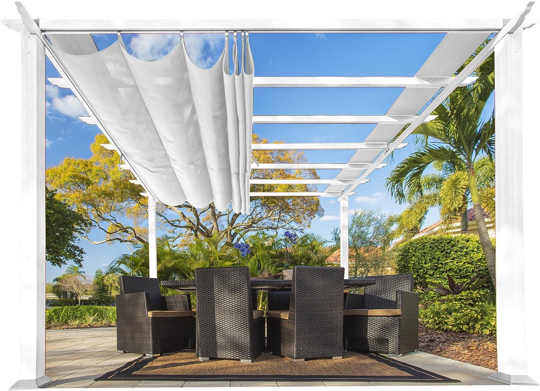 Paragon-Outdoor PR11WTW Aspen Pergola, estructura de patio trasero ...