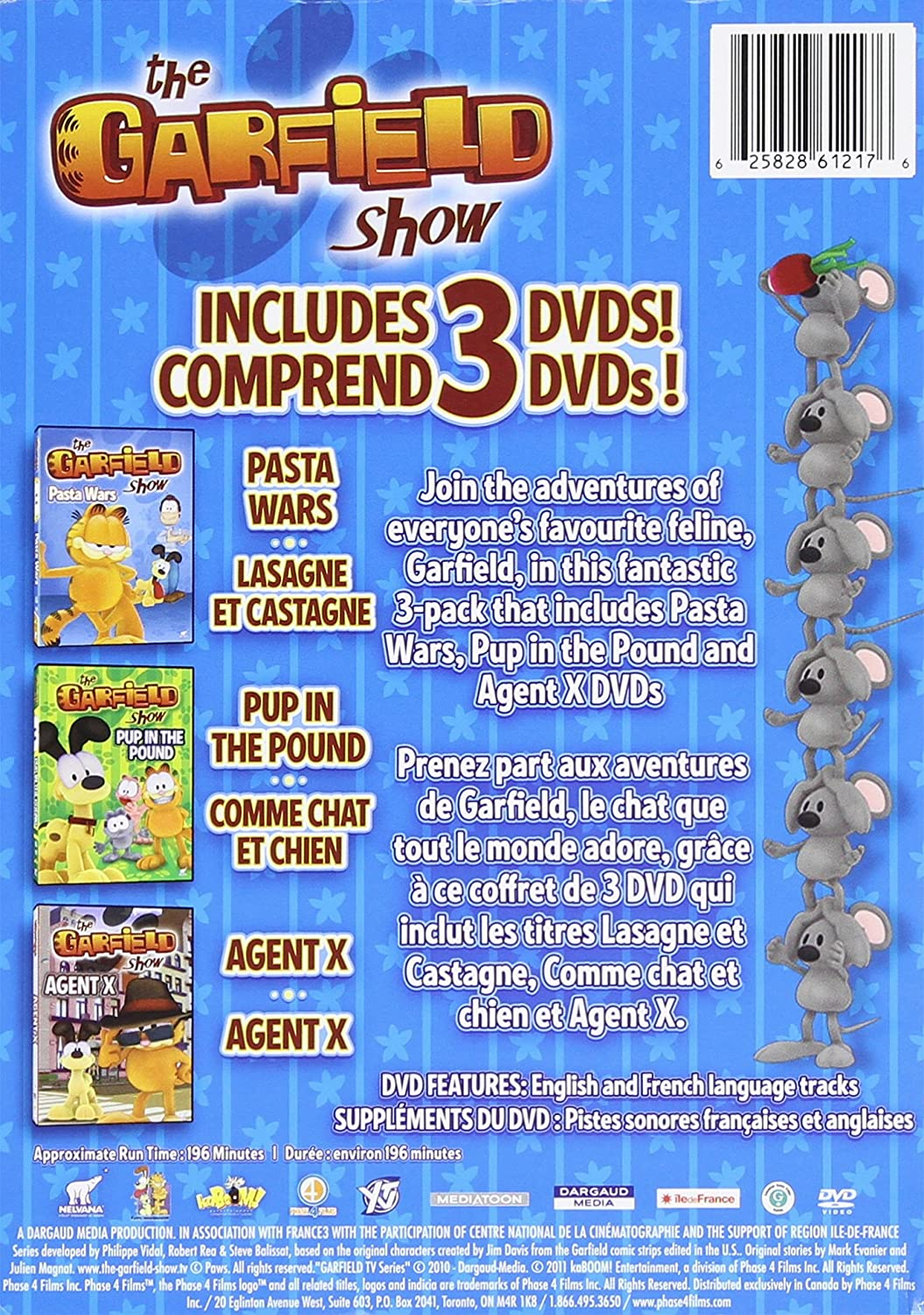 Back to previous page home garfield holiday celebrations - The Garfield Show Dvd Collection Garfield Show The Dvd Collection Bilingual Amazon Ca Various Dvd