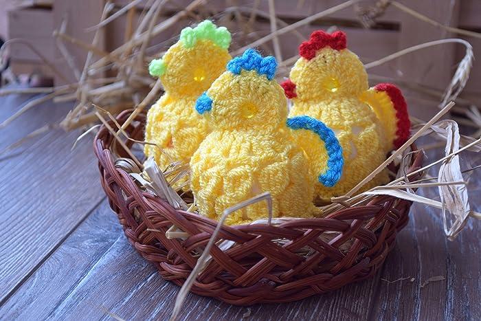 Ostern Häkeln Ei Wärmer Küken Amazonde Handmade