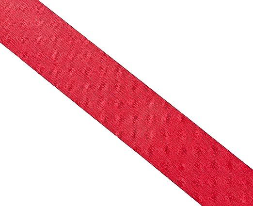 Mopec S40.40.14 Cinta tejido cotonet, 40 mm, roja, Textil, Rojo ...