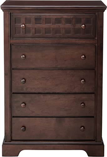 Progressive Furniture Casual Traditions Chest, 36 x 17 x 52 , Walnut