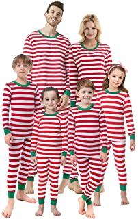 06035701be Matching Family Christmas Boys Girls Pajamas Striped Kids Sleepwear  Children Clothes