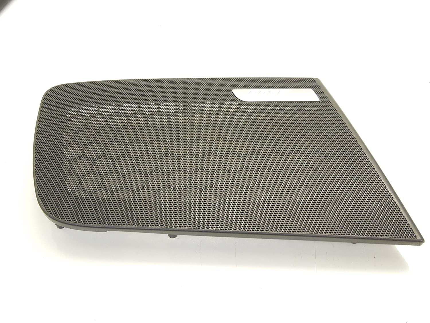 Audi A6 C6 Front OS Right Door Speaker Grill BOSE Black New Genuine