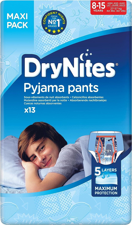 Huggies DryNites Pyjama Pants for Boys Age 8-15 54-Count