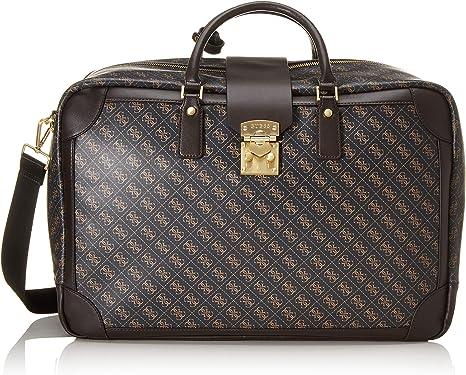 Guess Borsa borsa uomo Vintage 4g weekender colore brown UB20GU67