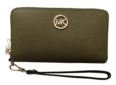 120ae9536773 Image Unavailable. Image not available for. Color: Michael Kors Fulton  Large Flat Multifunction Phone Case ...