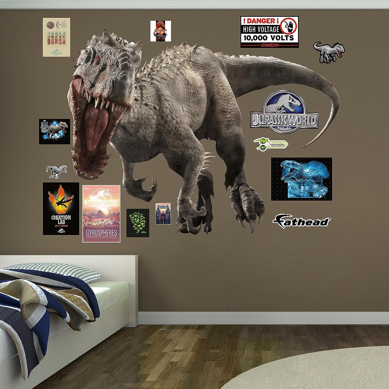Amazoncom Fathead Indominus RexJurassic World Real Decals Home - Jurassic world wall decals