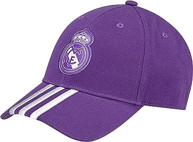 adidas Real Madrid A 3S Gorra, Hombre, Morado (Vioray/Balcri ...