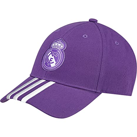 adidas REAL A 3S CAP - Casquette Ligne Real Madrid pour Homme, Violet - OSFY