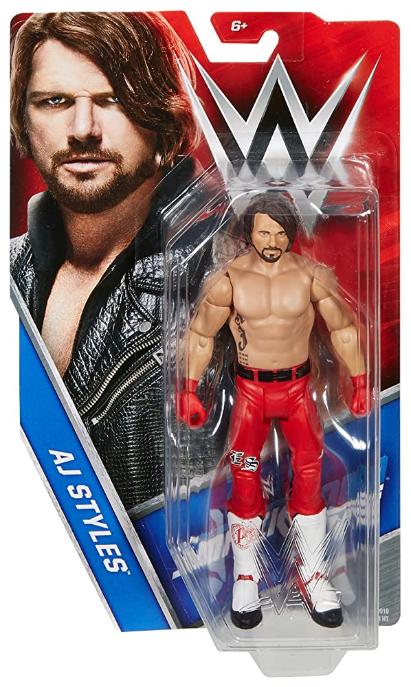Image result for aj styles mattel red