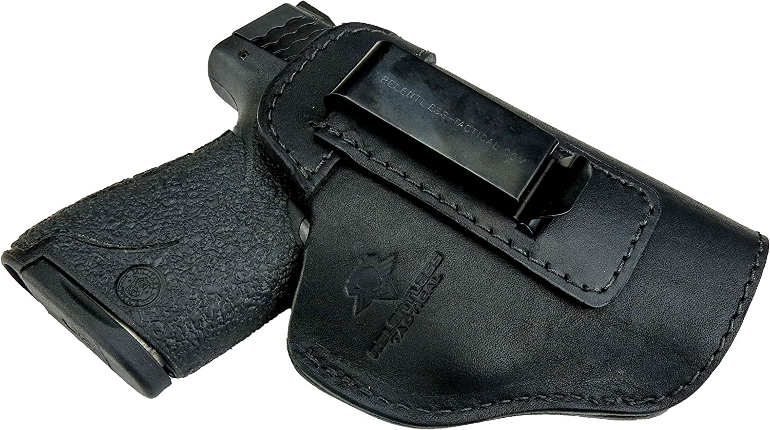 """/""""Bad Boy/"""" The Ultimate Suede Leather IWB Gun Holster For Glock 19 Conceal Carry"""