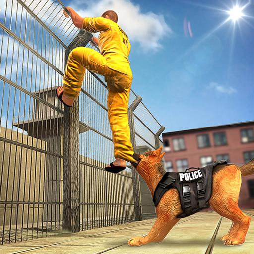 Prison Escape Police Dog Chase Gangsters Escape Survival 3D: Prisoner Jail Breakout Criminal Mission Sim Games For Kids 2018 ()
