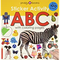 Image for Sticker Activity ABC: Over 100 Stickers with Coloring Pages (Sticker Activity Fun)