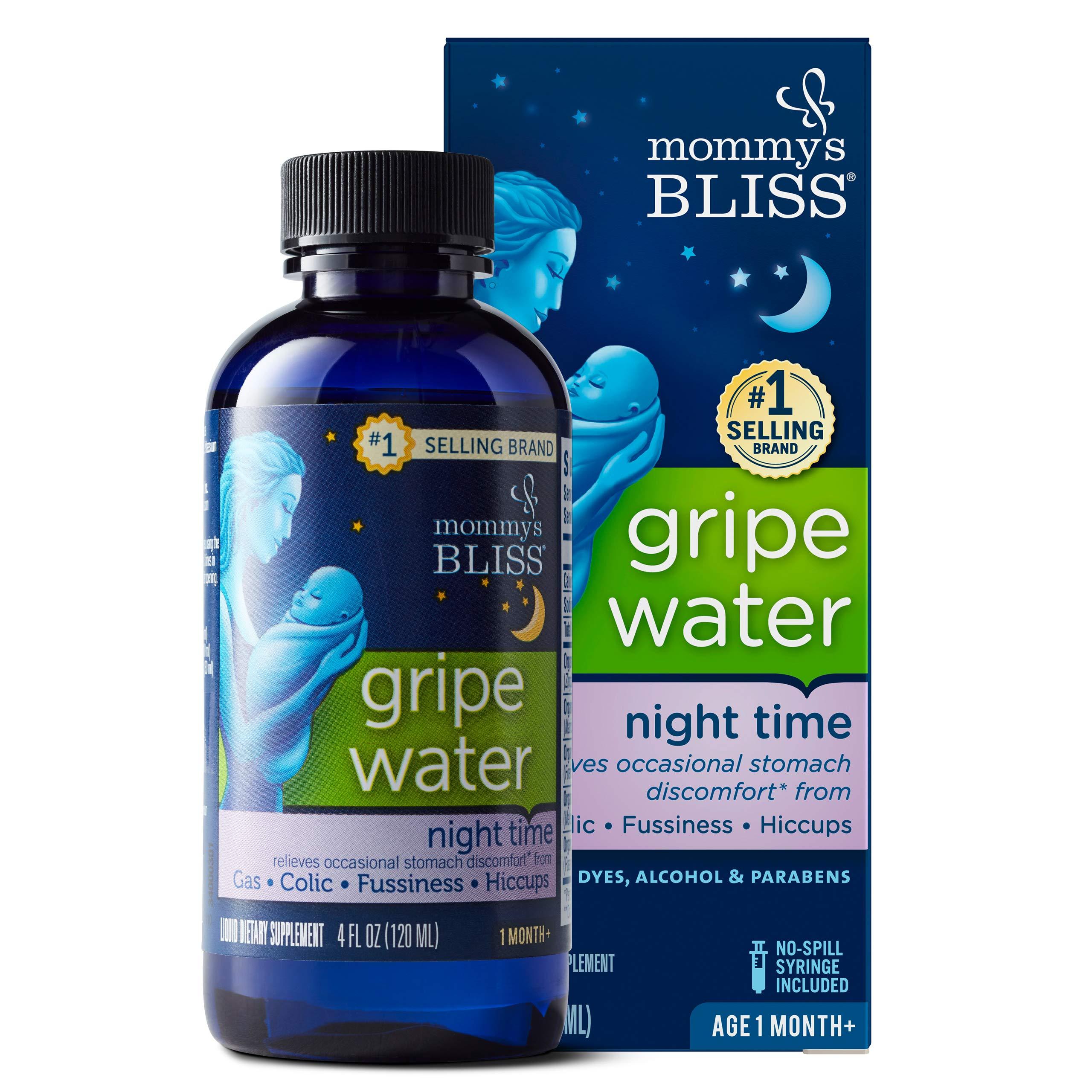 Mommy's Bliss - Gripe Water Night Time - 4 FL OZ Bottle