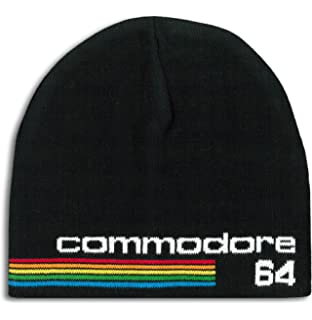 1ded841a635 Logoshirt - Commodore 64 - Logo Winter Knitted hat - Beanie - Black -  Licenced Original