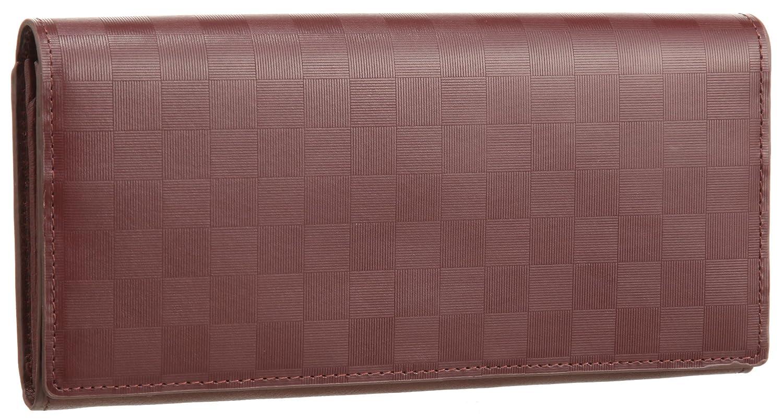 [バルア] Barua 財布 REF-008 かぶせ長札入れ レザー 牛革 B0045Y28HA  ブラウン