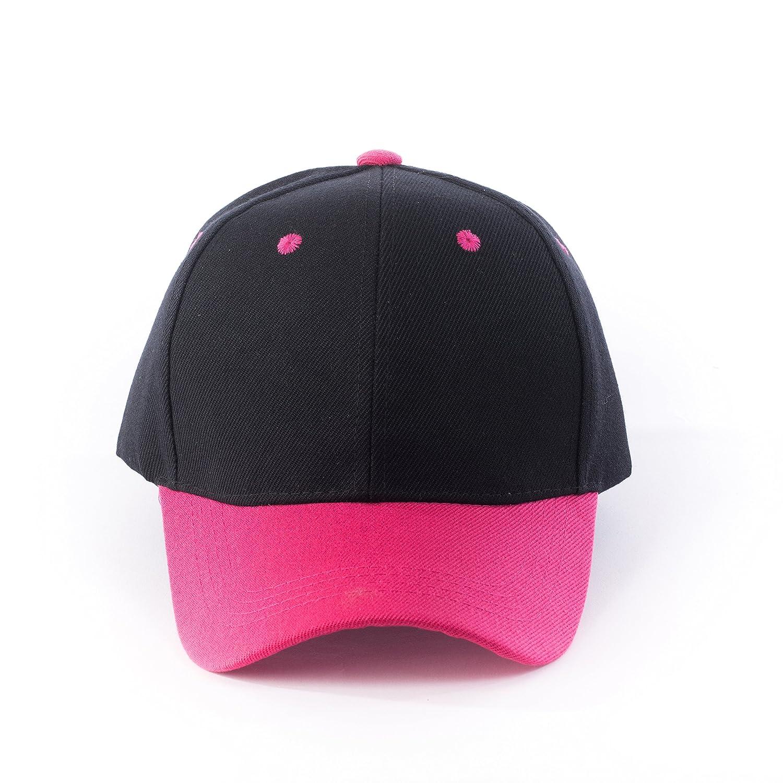 JNTOP HAT メンズ B074R9S8N8 M|ブラック/フューシャ ブラック/フューシャ M