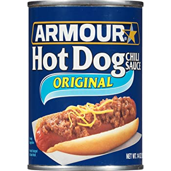 Armour Hot Dog 14-ounce Canned Chili