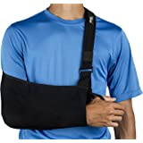 Think Ergo Arm Sling Sport - Ergonomic, Lightweight, Breathable Mesh, Neoprene Padded Strap