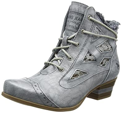 06edcc6279cd80 Mustang Damen 1187-502 Combat Boots  Amazon.de  Schuhe   Handtaschen